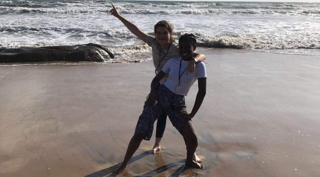 Farida O in Sri Lanka